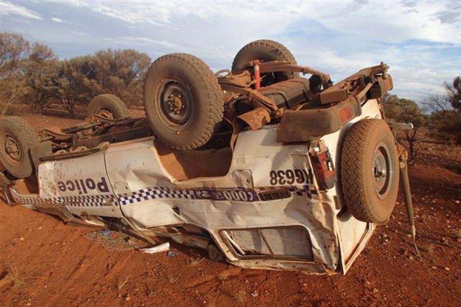 cop troopy rollover