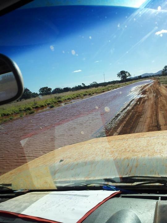 1 Wet Outback Road