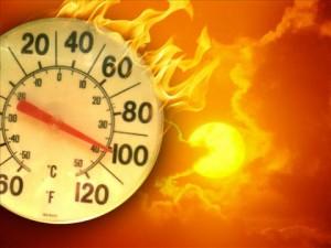 temperature hot