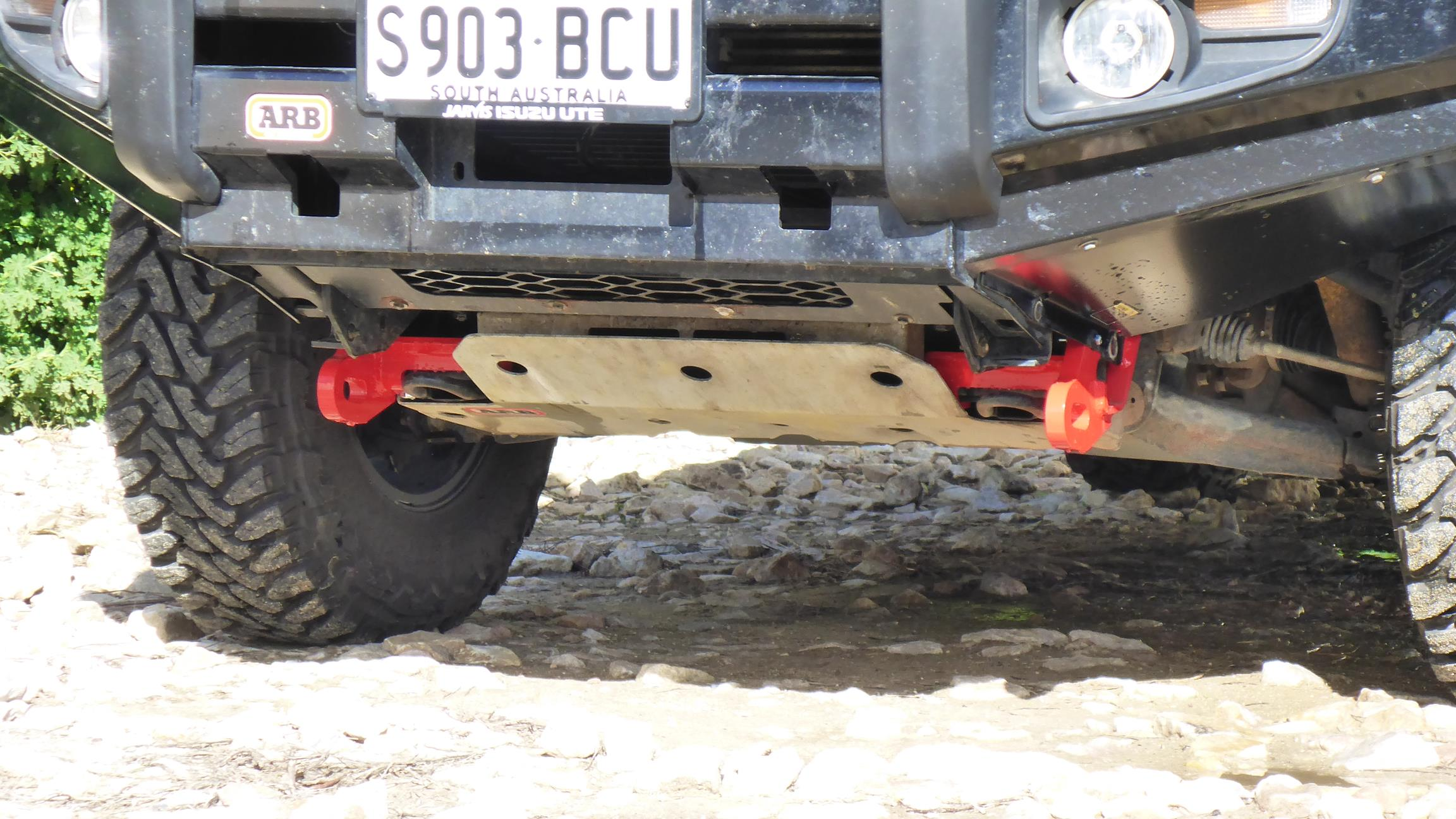 ARB Front Of Vehicle Recovery Points - Adventure 4WD